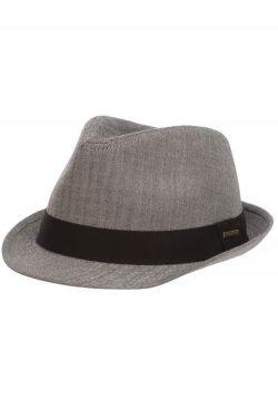 Micro Herringbone Fedora | Stylish Dress Hats for Men