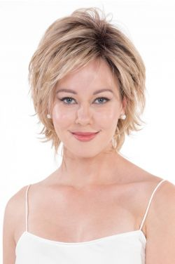 Mimosa by Belle Tress Wigs - Heat Friendly, Lace Front, Partial Monofilament Wig
