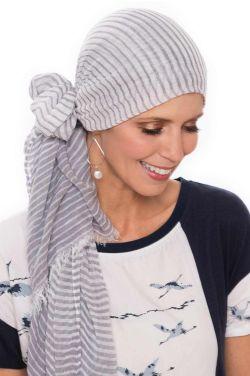Mini Stripe Oblong Scarf   Head Scarves for Women
