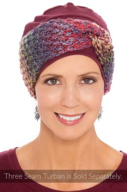 Multi Knit Twist Headband | Accessory for Hats and Turbans