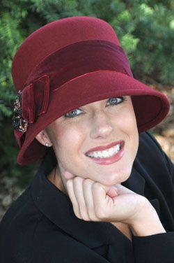 Nadia Beaded Bow Flapper Hat for Women