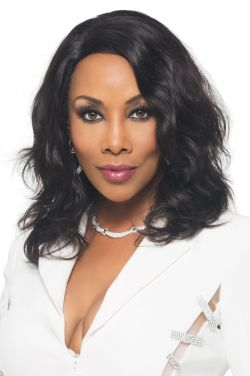 Nature by Vivica Fox Wigs - Brazilian Remi Hair, Baby Swiss Lace Front Wig