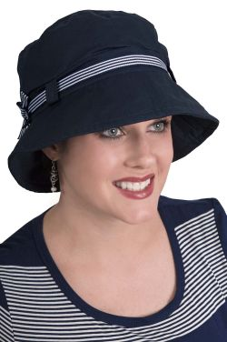 Nautical Bucket Hat | Summer Hats for Women
