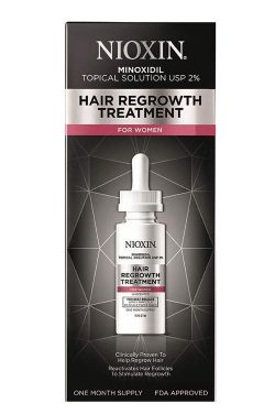 Nioxin Hair Regrowth Treatment for Women | Minoxidil Topical Solution for Thinning Hair |