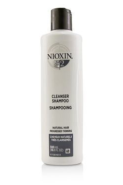 Nioxin System 2 Cleanser Shampoo | For Naturally Fine Hair Or Progressed Thinning |