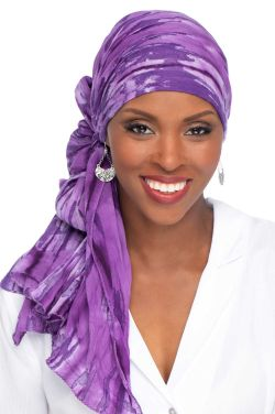 Oblong Batik Head Scarf - 100% Cotton
