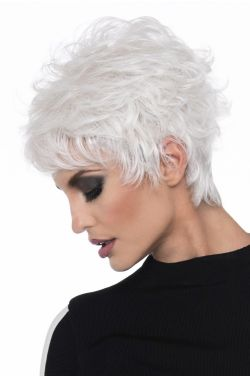 Olivia by Envy Wigs - Human Hair/Heat Friendly Synthetic Blend Wig
