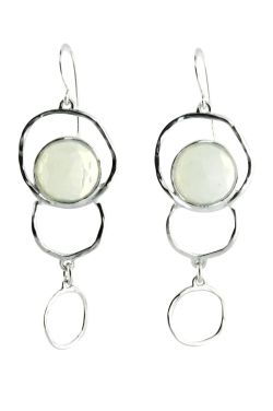 Opalite Multi Sphere Sterling Silver Earrings |