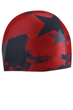 Speedo Home of the Fast Silicone Swim Cap |
