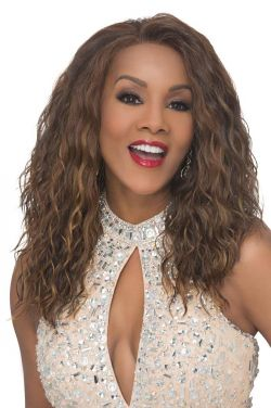 Orlando-V by Vivica Fox Wigs - Heat Friendly Synthetic, Lace Front Wig