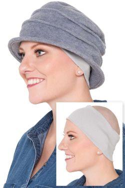 100% Cotton Oversized Wide Headband | Wear Under Hats | Headwear Extender