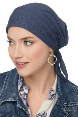 Padded Carol Scarf | 100% Organic Cotton Easy Tie Head Wrap Scarf