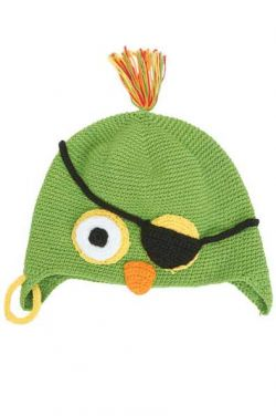 Kids Hand Crocheted Parrot Hat | Boys or Girls Beanie Cap