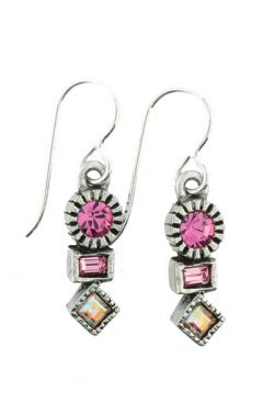 Patricia Locke Breast Cancer Awareness Earrings