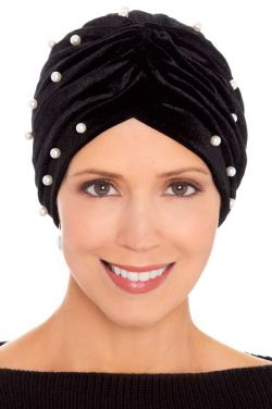 Pearl Embellished Turban | Stylish Turbans for Women