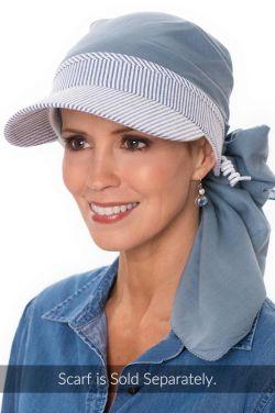 Pin Stripe Visor | Summer Hats for Women