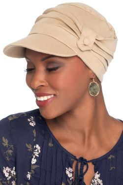Cardani Pleated Tab Baseball Cap | 100% Organic Cotton Hat
