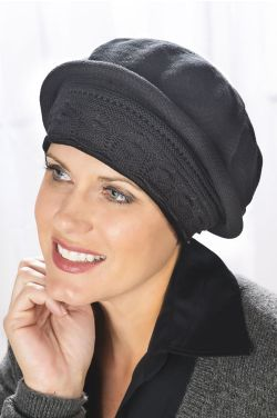 Pointelle Beret Turbans
