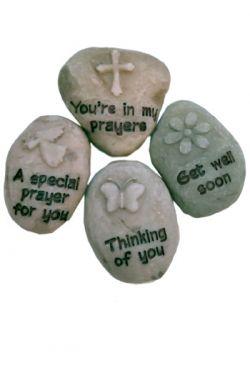 Prayer for Speedy Recovery Prayer Stone