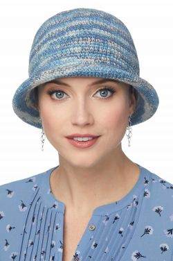 Prismatic Hand Crocheted Hat | 100% Cotton Hand Made Hat