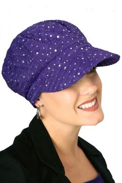 Sparkle Newsboy Hat