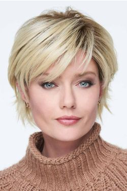 Flirting With Fashion by Raquel Welch Wigs - Heat Friendly Synthetic, Lace Front, Monofilament Top Wig