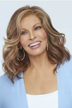 Maximum Impact by Raquel Welch Wigs - Heat Friendly Synthetic, Lace Front, Monofilament Top Wig