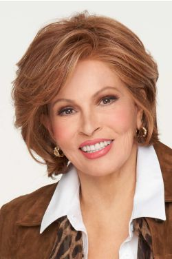 In Charge by Raquel Welch Wigs - Heat Friendly Synthetic, Lace Front, Monofilament Part Wig