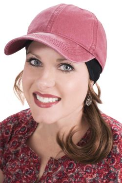 Stonewash Baseball Hat for Women