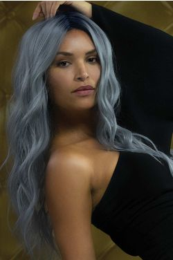 Lavish Wavez by Rene of Paris Wigs - Heat Friendly Synthetic, Lace Front, Monofilament Part Wig