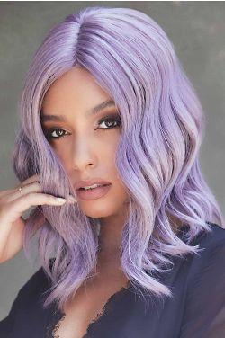 Velvet Wavez by Rene of Paris - Heat Friendly Synthetic, Lace Front, Monofilament Part Wig