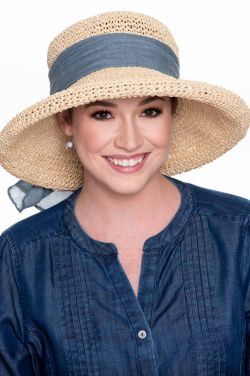 Kettle Brim Ribbon Sun Hat | Sun Hats for Women