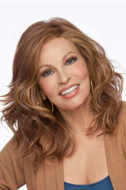 Free Time by Raquel Welch - Heat Friendly Synthetic, Hand Tied, Lace Front, Monofilament Wigs