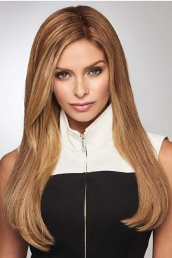 "Gilded 18"" Topper by Raquel Welch Wigs - Human Hair Topper"