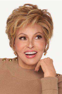 Ready for Takeoff by Raquel Welch Wigs - Heat Friendly Synthetic, Hand Tied, Lace Front, Monofilament Wig
