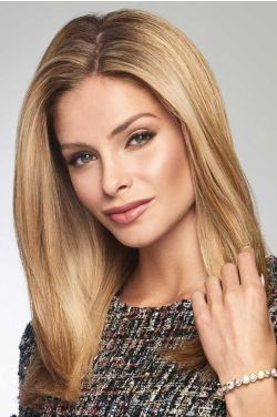 "Style Forward 16"" Topper by Raquel Welch Wigs - Heat Friendly Synthetic, Monofilament Topper"
