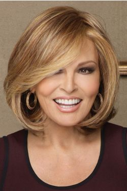 Petite Upstage by Raquel Welch Wigs - Heat Friendly Synthetic, Lace Front, Monofilament Wig