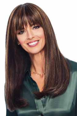 """Top Billing 18"""" Topper by Raquel Welch Wigs - Heat Friendly Synthetic, Monofilament Top Topper"""