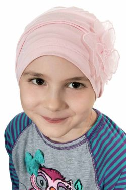 Girls Lotus Beanie Cap | Cardani Kids Viscose from Bamboo Hat