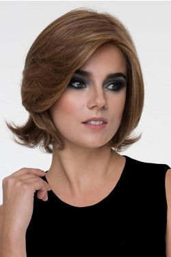 Sabrina by Envy Wigs - Human/Heat Friendly Synthetic Blend, Monofilament Top Wig