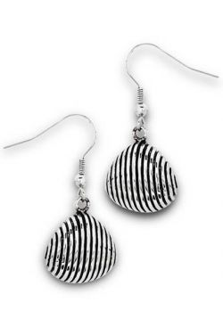 Surgical Steel Earrings | Stainless Steel Scallop Shell Earrings
