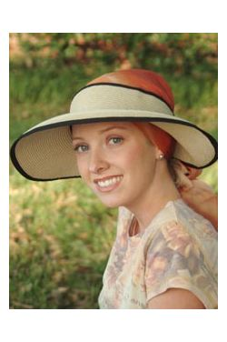 Deluxe Sun Visor for Scarves