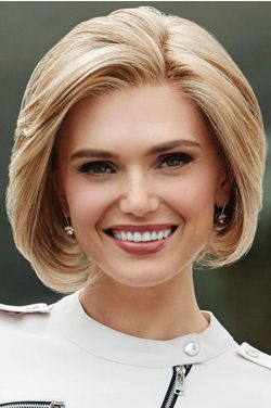 Large Sheer Style by Eva Gabor Wigs - Lace Front, Monofilament Part Wig