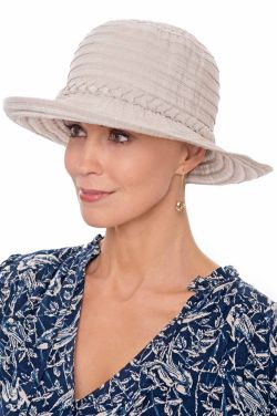 Shimmer Stripe Sun Hat | Sun Hats for Women
