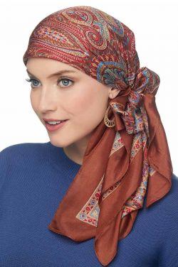 100% Pure Silk Head Scarf | Silk Scarf for Hair
