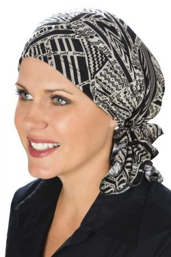 FACTORY SECONDS: Slip On Slinky Headwrap Pre-Tied Head Scarf