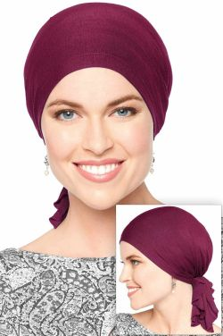 Headwear for Large Heads | Cardani® Large Bamboo Slip On Scarf