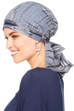 So Simple Scarves™ | Pre-Tied Scarf Head Covering in 100% Cotton Tie Dye Prints
