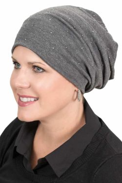 Sparkle Slouchy Cap - Slouchy Hat for Women