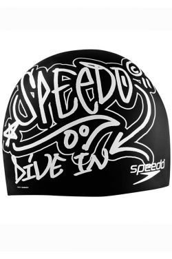 Speedo Drip Dry Silicone Swim Cap |